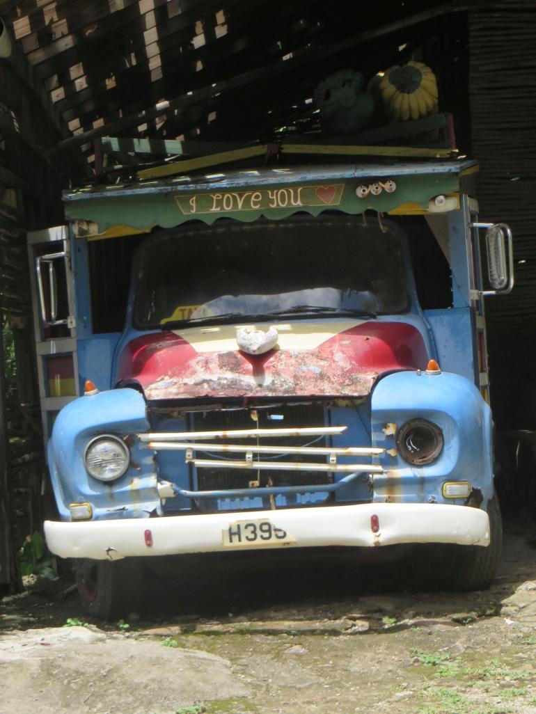 I love you lorry