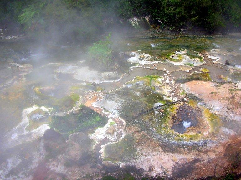 Volcanic activity, Waimangu