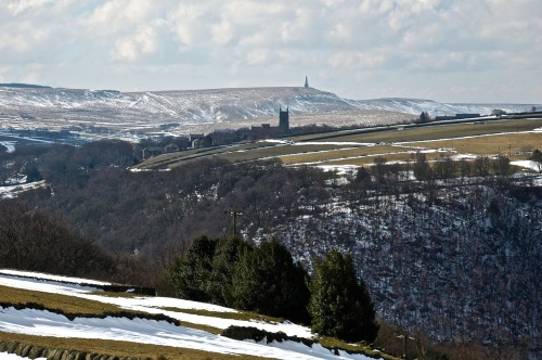 winter view heptonstall